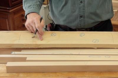 Tables gigognes - Sélection du bois
