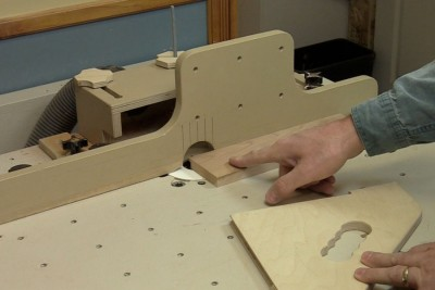 First steps on the router table
