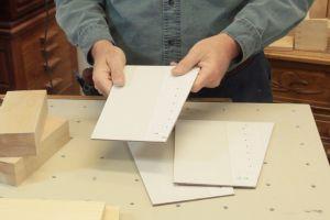 Préparation des stencils