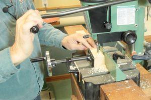 Préparation des mortaises