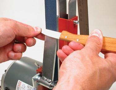 Support d'affûtage de couteaux
