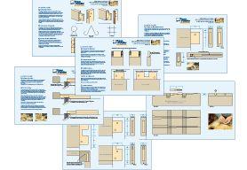 Plans détaillés - Tenons et mortaises pas à pas