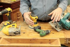 Les outils électriques manuels