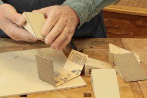 Fabrication de blocs à poncer