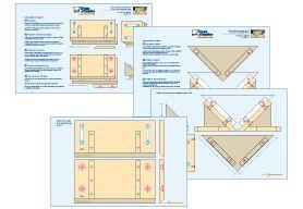 Plans détaillés - Le gabarit pour assemblages à clés