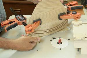 Fabrication d'un gabarit de coupe