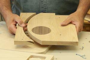 Découpage pour le formage du bois