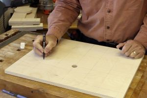 Making a drill press table top