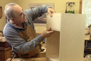 Ajustement de la façade du tiroir