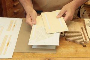 Préparation des matériaux et stencils
