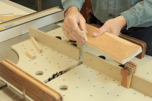 Préparation et ajustement du doigt