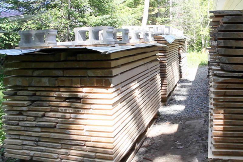 Le séchage du bois