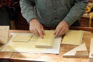 Préparation des stencils et marquage